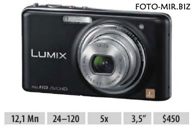 Обзор Panasonic Lumix DMC-FX77