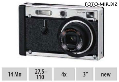 Обзор Pentax Optio RS1500