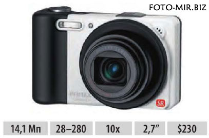 Обзор Pentax Optio RZ10