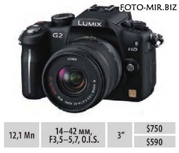 Обзор Panasonic Lumix DMC-G2 / G10